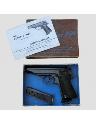 Walther-Manurhin PP s původním obalem...